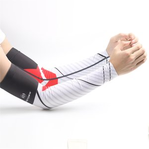 Nuevos Hombres Cycling Bicycle Arm Warmers Manguitos de Protección UV Mangas Running Mujeres Camping Summer Sports Safety War Warmers