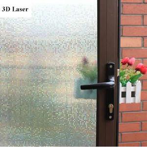 3D Static Cling Alta Qualidade Decorativo Vitral Privacidade Vidro Adesivos 60 cm X 100 cm
