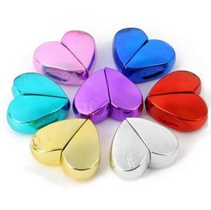 Mode Parfum Atomiseur Bouteille Coeur Bouteille vide 25ml Voyage Rechargeables Mini Atomiseur Pompe de pulvérisation bouteille de parfum