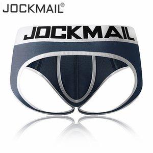 JOCKMAIL Ropa interior atractiva para hombres Jock Straps Briefs Bikini Hombre Jockstraps cueca Gay Bolsa para pene Thong G Strings Modal transpirable