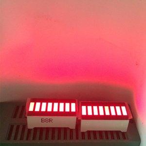 5 adet LED Ekran 8 Segment Çubuk Grafik Kırmızı Numaraları LED Işaretleri Ekran Küp 8Bars Grafik Kurulu Bar-Grafik 8 menü Modülü