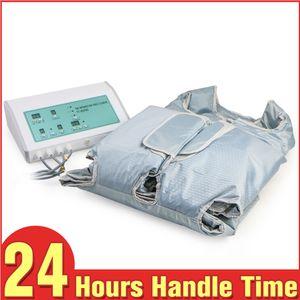 استخدام صالون 2 في 1 FAR INGRARED PRESSOTHERAPY DETOX التخسيس AIR WAVE ضغط الجسم تشكيل التخسيس آلة