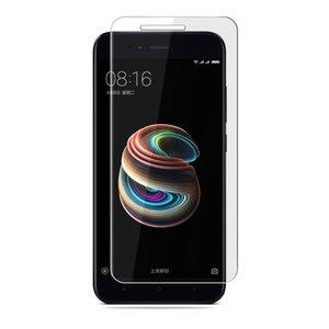 Para Xiaomi Mi 5X / MI A1 Cristal templado 9H 2.5D Protector de pantalla de cristal ultra fino inastillable sin burbujas para Xiaomi CellPhone