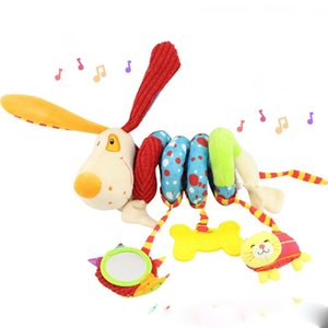 baby 0-1 year old plush toy baby music puzzle bed around the bed trailer hanging rattle