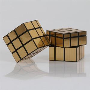 Shengshou Blocos de Espelho Fundido Revestido 3x3x3 Velocidade Cubo Mágico Puzzle Cubos Brinquedos Educativos para Crianças Dos Miúdos
