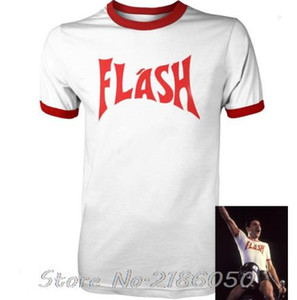 FREDDIE MERCURY FLASH GORDON QUEEN ROCK BAND футболка ретро хип-хоп необычные платья 80-х Топ Tee FrontBack печать мужская футболка