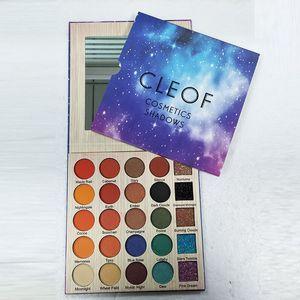 Cleof 25 Renkler Göz Farı 25 Renkler Glitter Göz Farı Kozmetik Makyaj Palet Elmas Göz Farı Pudra Seti DHL Ücretsiz Gemi