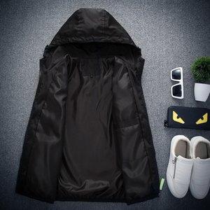 Velocidade Ocasional Caminhante Moda Jaqueta Homens Primavera Outono Sólida Fora Casaco Jaqueta Plus Size M-7xl Casuais Jaqueta Masculina