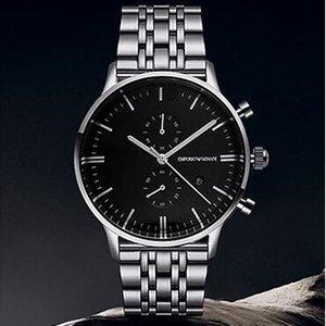 moda de luxo, lazer negócios venda quente ostenta o envio gratuito de ar0389 requintado relógio dos homens relógio de quartzo
