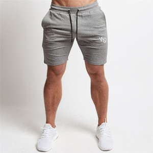 New Workout Running Shorts Men Soft Jogging Short Pants Coon Breathable GYM Sport Shorts Men Bodybuilding Fitness Sweatpants