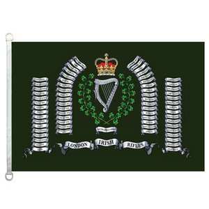 LIR Flag Banner 3X5FT-90x150cm 100% Polyester, 110gsm Kettenwirkware Outdoor-Flagge