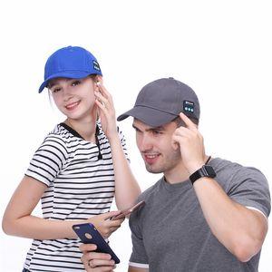 Homens mulheres bluetooth cap fone de ouvido sem fio esportes fone de ouvido chapéu bluetooth v4.1 música chapéu cap speaker fones de ouvido chapéus de beisebol