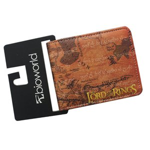 Hot Comics Letter Short Student Wallets Mix Style THE LORD OF THE RINGS Leather Money P Bag Credit Card Holder Anime Purse
