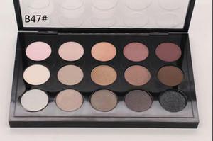 Envío gratis 1 UNIDS ventas directas de la fábrica de la popular nueva marca de maquillaje 15 colores paleta de sombras