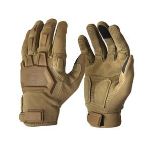 Taktische Handschuhe Männer Outdoor Sports Military Special Forces Vollfinger-Handschuhe Rutschfeste Fahrradhandschuhe Tragbare Gym Zubehör
