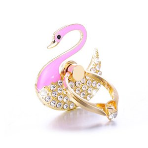 Diamond Crystal Metal Peacock Ring Stend Mobile Phone Holder Multifunction Universal for Cell Phone Accessories Finger Ring Holder