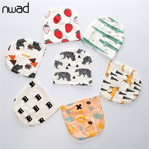NWAD Baby Boy Hat Cotton Baby Cap Newborn Accessories Autumn Winter Headwear Beanies For Girls Animal Fruit Printing FS030