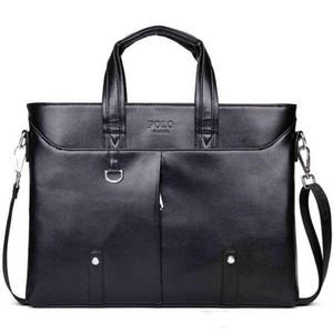 2017 известный бренд простой мужской кожаный портфель сумка твердые большой бизнес человек сумка ноутбук сумка паста executiva masculino