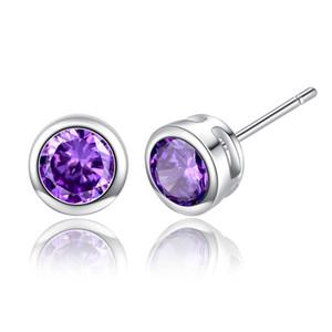 15 paires de design de mode pour femmes Rouge / Violet / Cristal Boucles d'oreilles Bijoux lumière luxe Lovers cadeau Boucles d'oreilles Bijoux pour cadeau