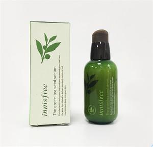 INNISFREE Corea Brand Green Bottle CREMA IL Seme di Tè Verde Siero Idratante Viso Cura Lozione 80 ML Nuovo Viso Cura della pelle Crema