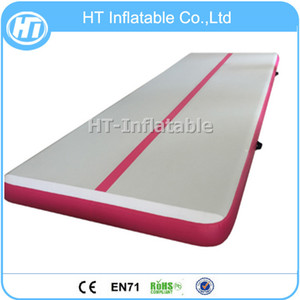 Free Shipping 5m High Quality Cheap Gymnastics Equipment Factory Mat Airtrack Floor Tumbling Inflatable Air Mat For Gym