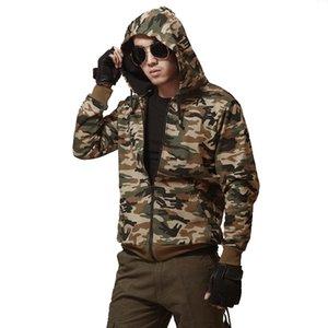 Armée Vert Camouflage Hommes Veste Plus La Taille Militaire Veste Mâle Manteau Marque-Vêtements Coton Tactique Masculine Veste Veste Homme