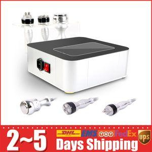 Venda quente 3in1 Unoisetion Cavitação 40 K 3D RF Radiofrequência Magro Peso Loess Dispositivo de Pele para Uso Doméstico