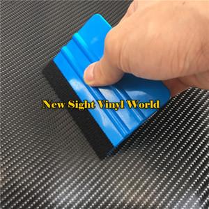 Application flexible de voiture de raclette de vinyle de feutre flexible d'outils d'application de feutre de grattoir de voiture de raclage 100 pcs / lot