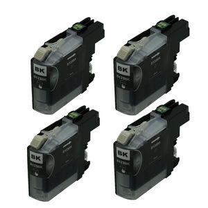 Cartucce d'inchiostro nero LC123 4PK compatibile per stampanti Brother MFC-J650DW MFC-J4510DW MFC-J6520DW DCP-J132W Stampante DCP-J552DW Inkjet Ink