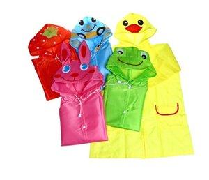 ليندا مضحك معطف المطر أطفال الأطفال المعطف ملابس ضد المطر راينسويت الاطفال للماء الحيوان المعطف 5 لون حار SN1068