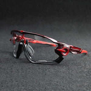 2018 Tour de France Photochromic Sonnenbrille Auto Objektiv TR90 Sport Cycling Verfärbungs Brille Männer Frauen MTB Straßen-Fahrrad