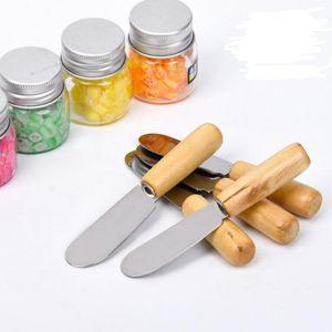 Pastelería de acero inoxidable espátula espátula torta espátula crema cuchillo de mantequilla cuchillo más suave decoración de pasteles herramientas esparcidor Breakfas