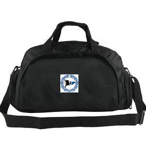 DSC Arminia Bielefeld duffel çanta Bir kulüp tote Amblem futbol sırt çantası Futbol takımı bagaj Spor omuz duffle Açık sling paketi