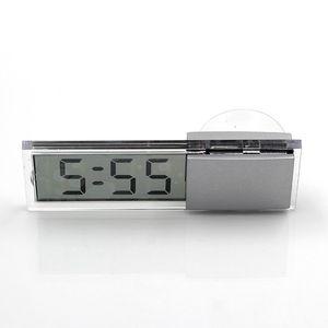 2016 Новый высокое качество присоской наклейкой авто приборной панели автомобиля ветрового цифровой ЖК-дисплей мини-часы