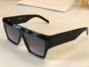 40030 Rechteck Sonnenbrillen Schwarz / Grau Sonnenbrillen Sonnenbrillen unisex Sonnenbrillen Luxus Designer Sonnenbrillen Glasse Neu im Karton