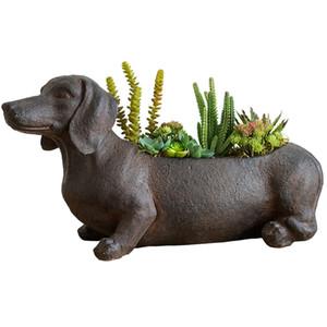 Pots de fleurs décoratifs pour animaux American Vintage Garden Country