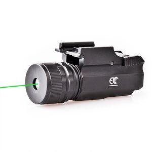 녹색 레이저 광경 LED 전술 강한 빛 손전등 녹색 레이저 시력을 조정하는 것을 목표로 할 수있다