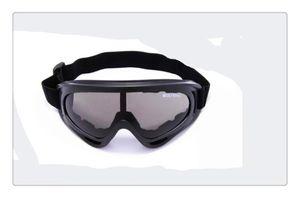 Marca SZQY X400 Desert Storm Goggles Tactical Eye Coated Seguridad Gafas de esquí Deporte al aire libre a prueba de polvo Sunglass Eye Glasses