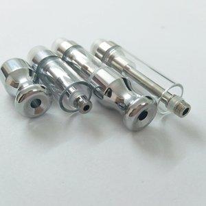 TH205 Стеклянный распылитель Vape Cartridges Фильтр для густого масляного распылителя Керамическая катушка Fit 510 Резьба Батарея CO2 Картридж с круглым металлическим наконечником
