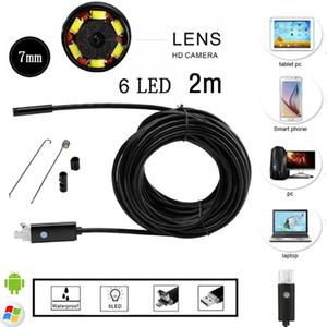 USB Android Camera HD Endoscope Borescope SnakeTube Camera Endoscope 2 IN 1
