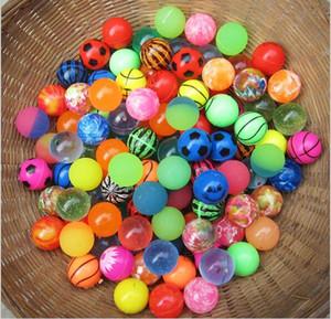 NO.27 palle di rimbalzo di gomma di 25mm divertimento di galleggiamento solido pesca marittima per i giocattoli di decompressione Giocattoli di divertimento