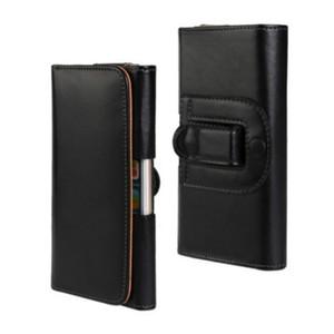 Clipe de Cinto Universal PU Leather Cintura Titular Flip Bolsa para Doogee S30 / Shoot 1 / Y6