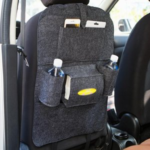 Auto Car Seat Back Multi-Pocket Storage Bag Organizer Holder Accessory Multi-Pocket Travel Hanger Backseat Organizing