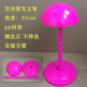 Sıcak Satış 1 adet Ekonomi Plastik DIY Peruk Standı Istikrarlı Taşınabilir Katlanır Peruk için Standı Tutucu / Peruk / Şapka ekran Peruk Standı Tutucu