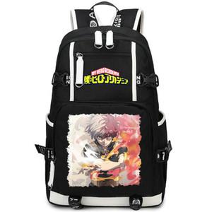 Todoroki Shoto zaino Il mio eroe giorno accademico pacco Anime sacchetto di scuola di stile casual packsack qualità zaino Sport zainetto zaino Outdoor
