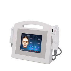 Nueva tecnología 2in1 Ultrasound Hifu Ultrasound skin care facial lifting machine