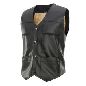 Autumn and winter vest men's jacket trend sleeveless sleeveless thick down cotton vest warm men's vest