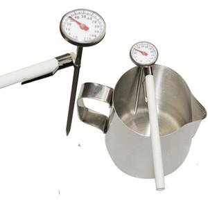 Мгновенное Чтение кофе Приготовление вспенивания молока Карманный термометр зонд 1-дюймовый циферблат