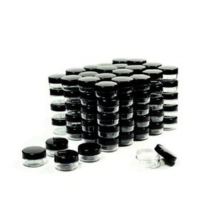5 грамм образца косметические контейнеры банки с крышками пластиковые макияж контейнеры для проб горшок BPA бесплатно банок