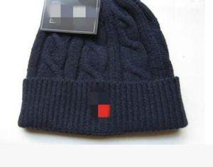 Cappello caldo di cotone degli uomini di autunno-inverno CC Skullies Marca capelli pesanti della sfera dei berretti di torsione dei cappelli di lana di Hip-Hop di colore solido